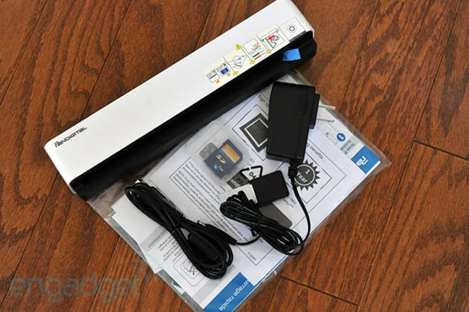 Pandigital PhotoLink portable scanner review