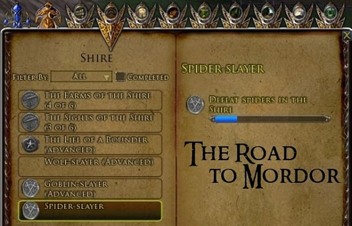 The Road to Mordor: Six ideas to improve LotRO's deeds