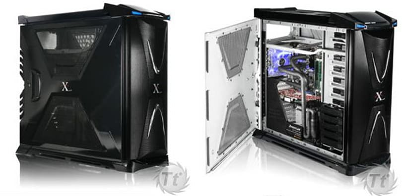 Micro refrigerated ThermalTake Xpressar case promises to outcool liquid cooling