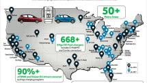 BMW and Nissan launch 174 new dual-plug EV chargers in the US
