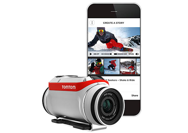 TomTom put its navigation know-how to work in an action cam