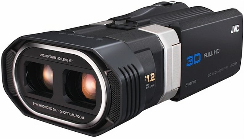 JVC's GS-TD1 3D camcorder now available for $1,700