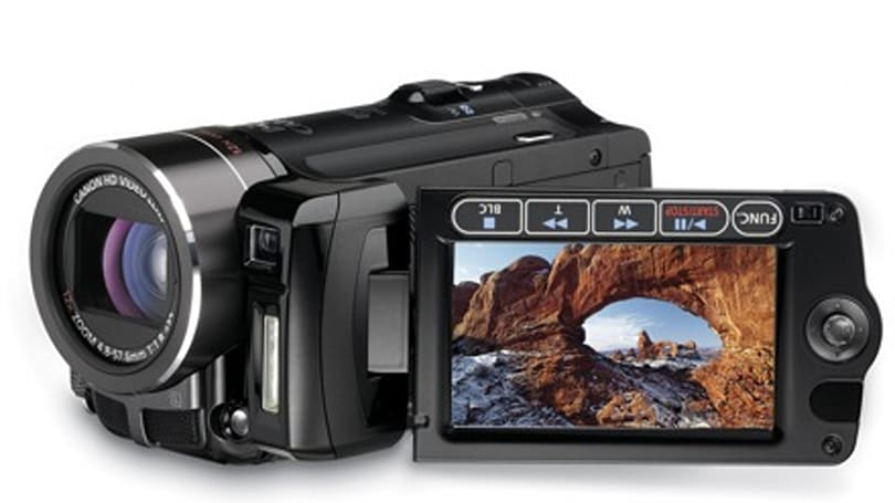 Canon's VIXIA HF10 16GB dual-flash camcorder and more