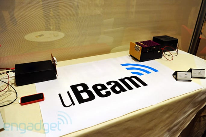 uBeam wireless power startup shows prototype at D9 (video hands-on)