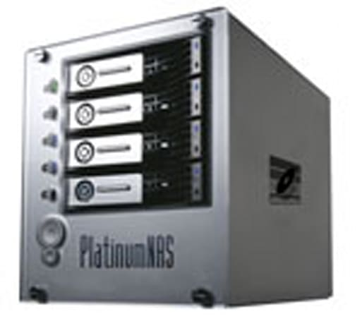 MicroNet Platinum NAS 4.0 packs four 1TB SATA hard drives