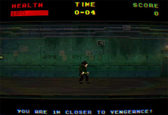 Retro demake 'Hammered' recreates brutal Oldboy fight