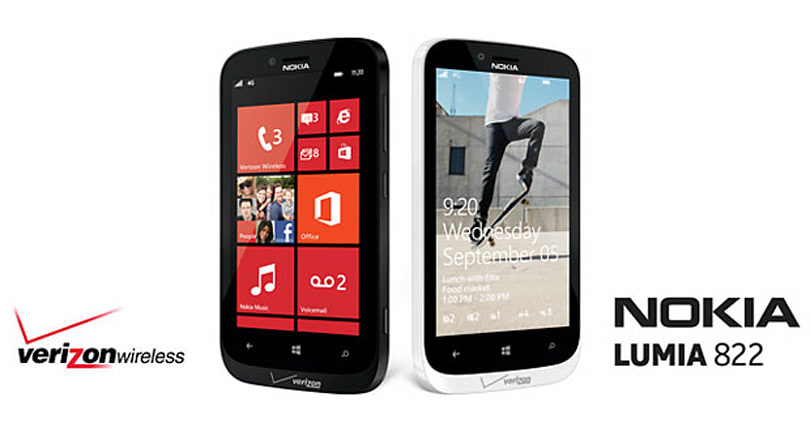 Verizon officially announces Nokia Lumia 822, coming this Fall (update: $100 on two-year contract)