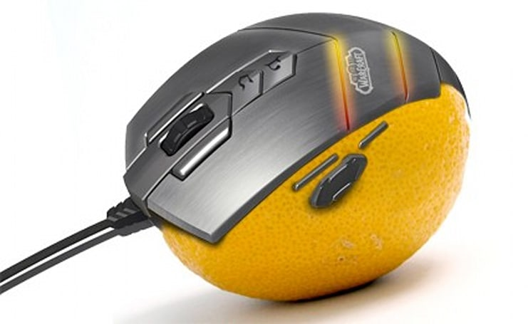 Steelseries WoW mouse not so wow-worthy?