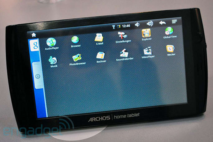 Archos 7 Home Tablet (and PMPs) hands-on