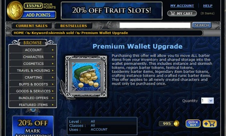 The Daily Grind: What convenience items in MMOs will you pay for?