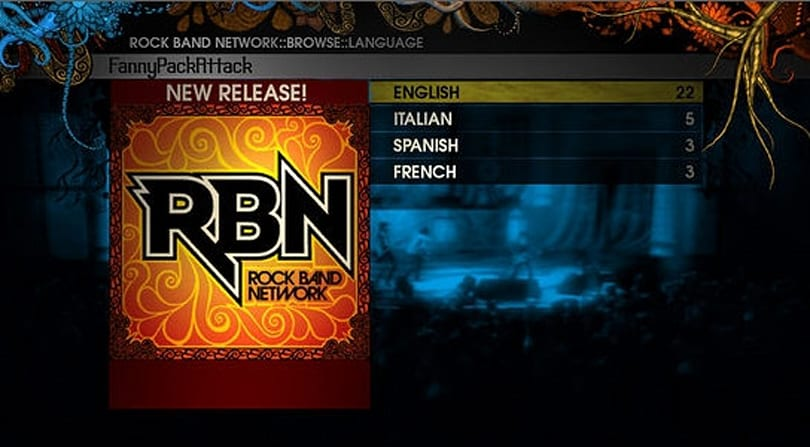 Rock Band Network beta opening to Xbox 360 users, garage bands see 'their chance'