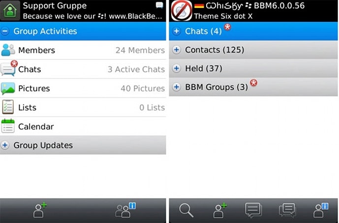RIM releases BBM 6, makes your mobile messaging dreams come true
