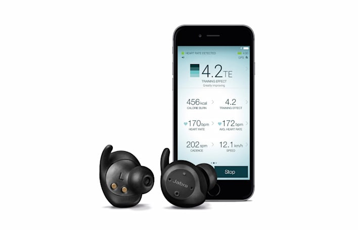 Jabra's truly wireless earbuds track your heart rate during workouts