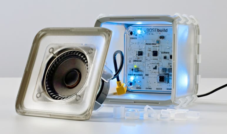 Bose helps kids build their own speaker with a $149 kit