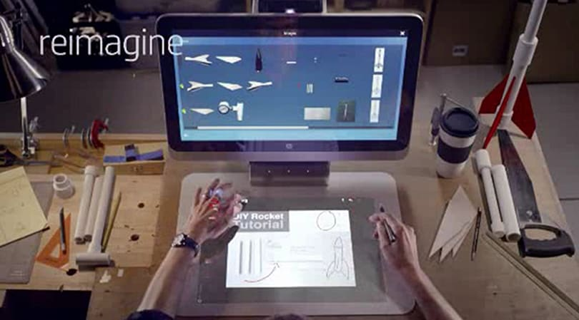 HP reveals Sprout: The strange 3D-scanning, multi-display all-in-one PC