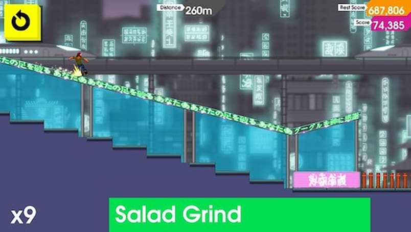 OlliOlli skating to PC, Mac, Linux, Roll7 debuting game at EGX Rezzed