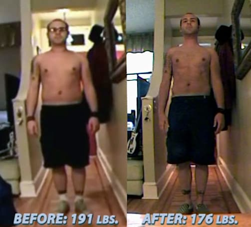 Man's Wii Fit experiment comes to an end, 15 pounds shed