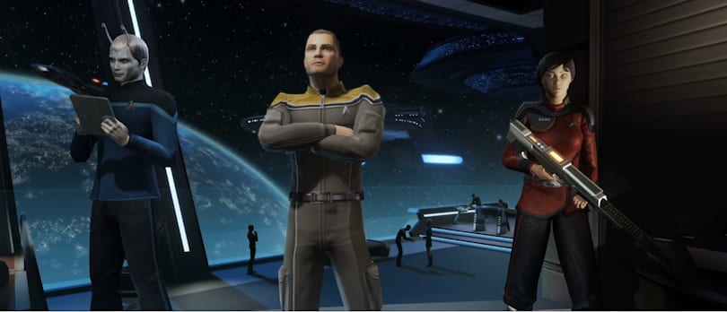 'Star Trek Online' launches for free on consoles