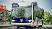 Mercedes' autonomous bus makes a landmark trip on public roads