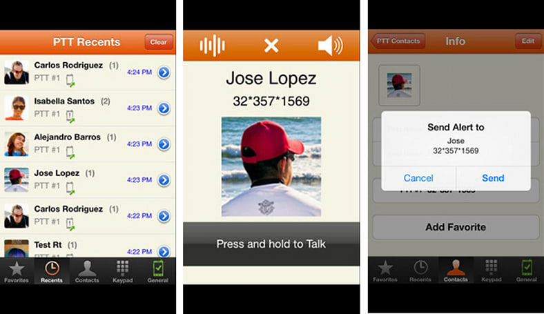 Motorola and NII Holdings bring Prip's push-to-talk service to the iPhone