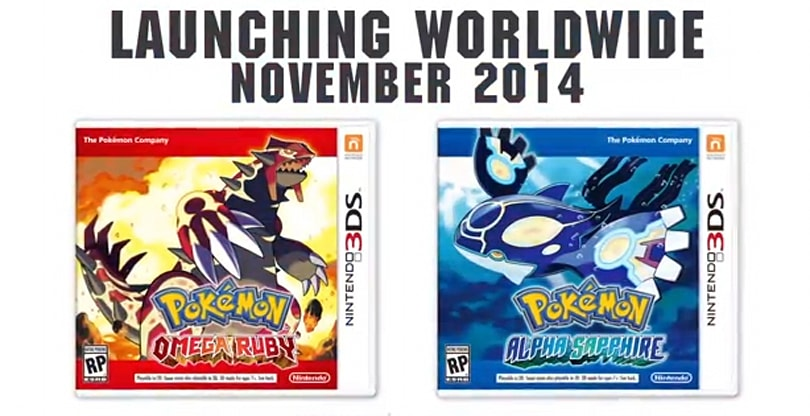 Pokemon Ruby and Sapphire 'fresh takes' heading to 3DS in November [Update: Trailer added]