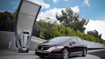 Honda shows off conceptual, solar-powered station to refill your conceptual, hydrogen-powered car (video)