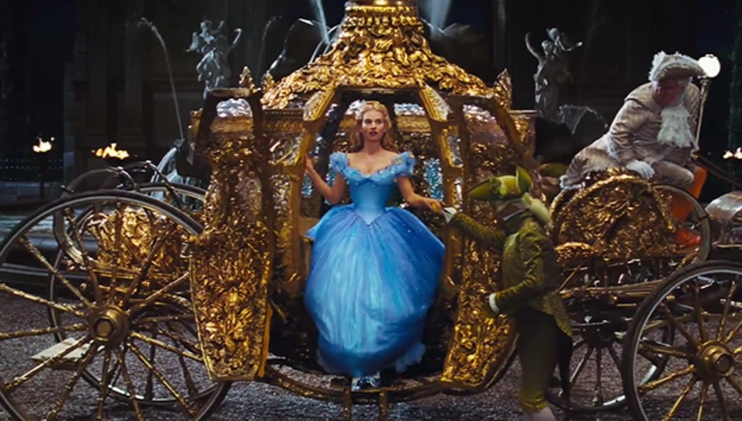 The official Cinderella trailer is here, and it. is. amazing.