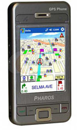 Pharos GPS Phones released for sale