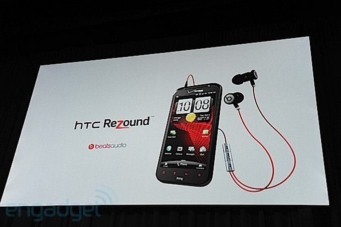 HTC Rezound for Verizon unveiled: Beats Audio, 4.3-inch 720p display, available November 14th for $299