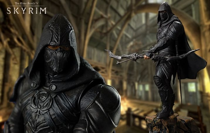 This Skyrim Nightingale statue has 100 points in Awesome