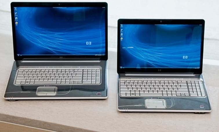 HP intros HDX16 / HDX18 entertainment notebooks