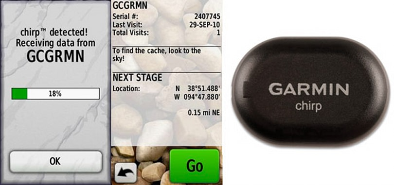 Garmin's $23 Chirp wireless beacon brings geocaching thrills to Oregon, Dakota GPS units