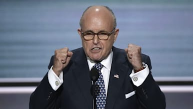 Rudy Giuliani brings the house down at RNC
