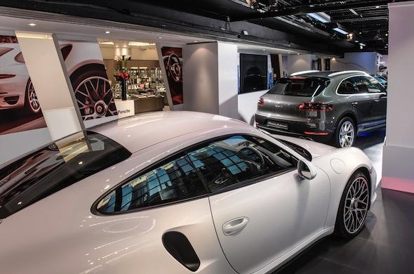 Porsche at Harrods