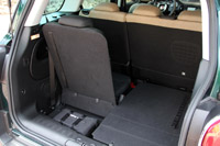 2015 Fiat 500L Living rear cargo area