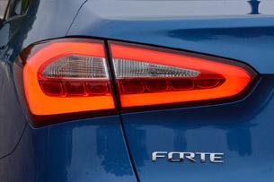 2014 Kia Forte taillight