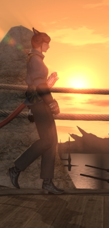Nothing makes a sunset in Limsa better than a gun.