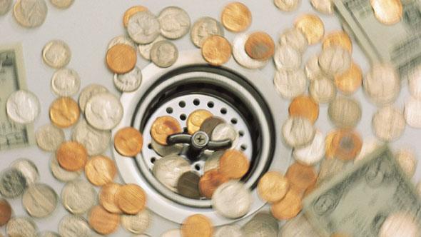Worst financial moneywasters
