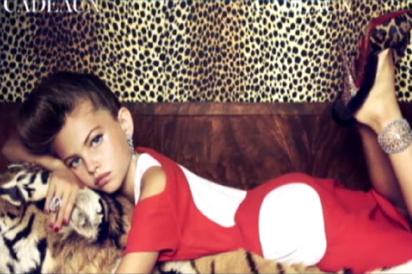 Child Model Becomes 'Grown-Up' Magazine Cover Star - Aged