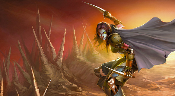 Undead Rogue, by Blizzard