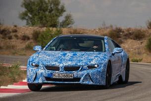 2014 BMW i8 Prototype driving