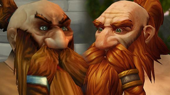 Dwarf Character Model Comparison