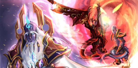 Prophet Velen by Chronogate via deviantART