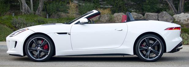 Superb 2014 Jaguar F Type V8 S ...