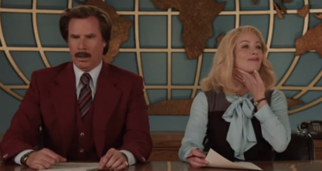 anchorman 2 bloopers