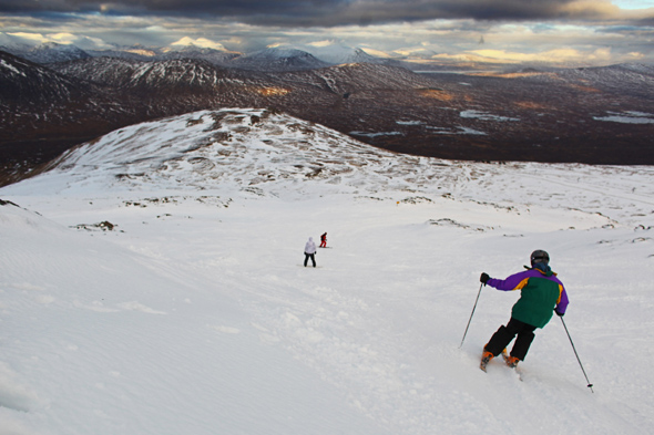scotland mountains get more snow than sochi, scotland weather