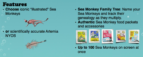 sea monkey pitch part one