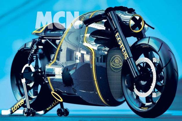 ロータス初の2輪車「C-01」がついに公開!