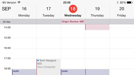 Googles native Calendar app picks up 7-day week view