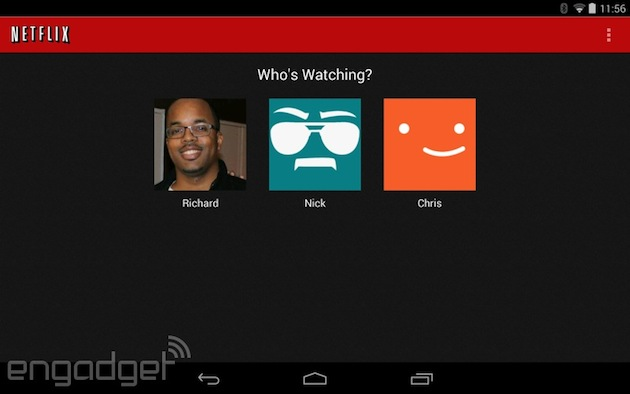 Netflix for Android update brings support for individual